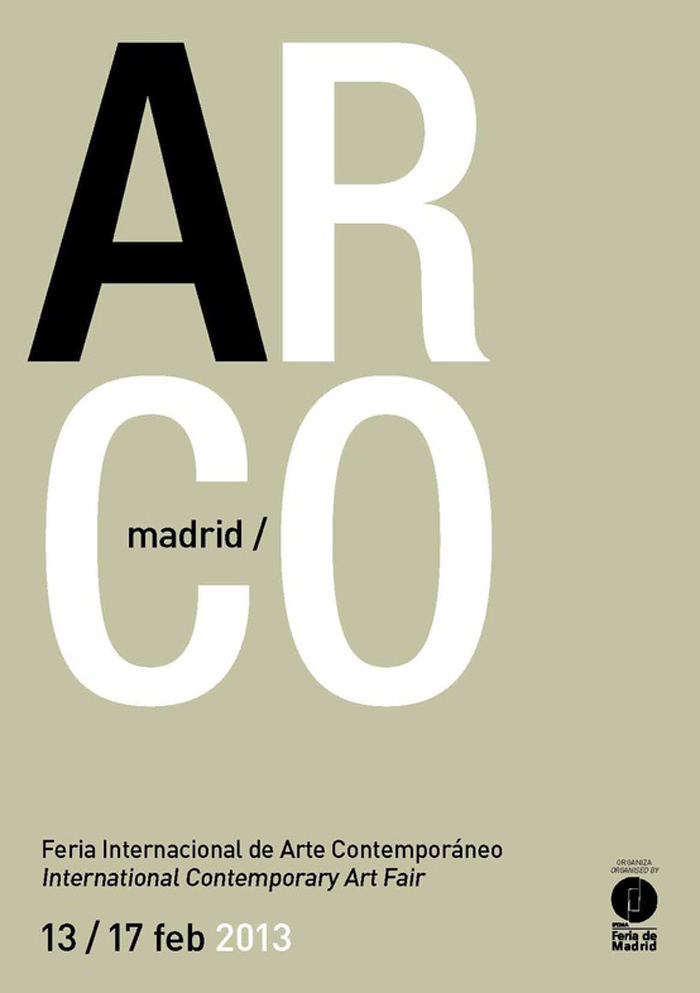 Cartel ARCO Madrid 2013