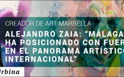 ENTREVISTA A ALEJANDRO ZAIA: CREADOR DE ART MARBELLA