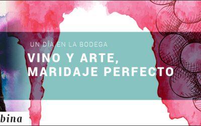 VINO Y ARTE MARIDAJE PERFECTO